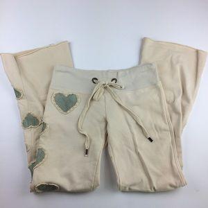 Joystick Dreamland heart patch lounge sweatpants